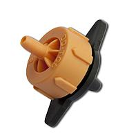 "Эмиттер с компенсацией 2 л/ч, 0,8-3,2 Bar, под трубку 6 мм (1/4""), DSE-0102L"