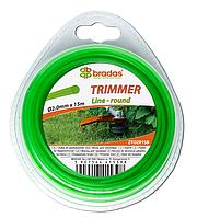 """Леска для триммера TRIMMER """"круг"""" 2,7x15 блистер, ZTO2715B"""