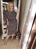 Платье супер-батал, молодежное, больших размеров Бордовый, фото 1