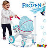 New!Коляска с люлькой для куклы Frozen Smoby 511345
