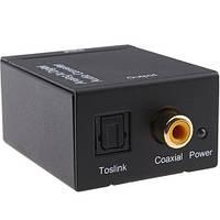 АЦП аудио конвертер аналог RCA - цифра коаксиал
