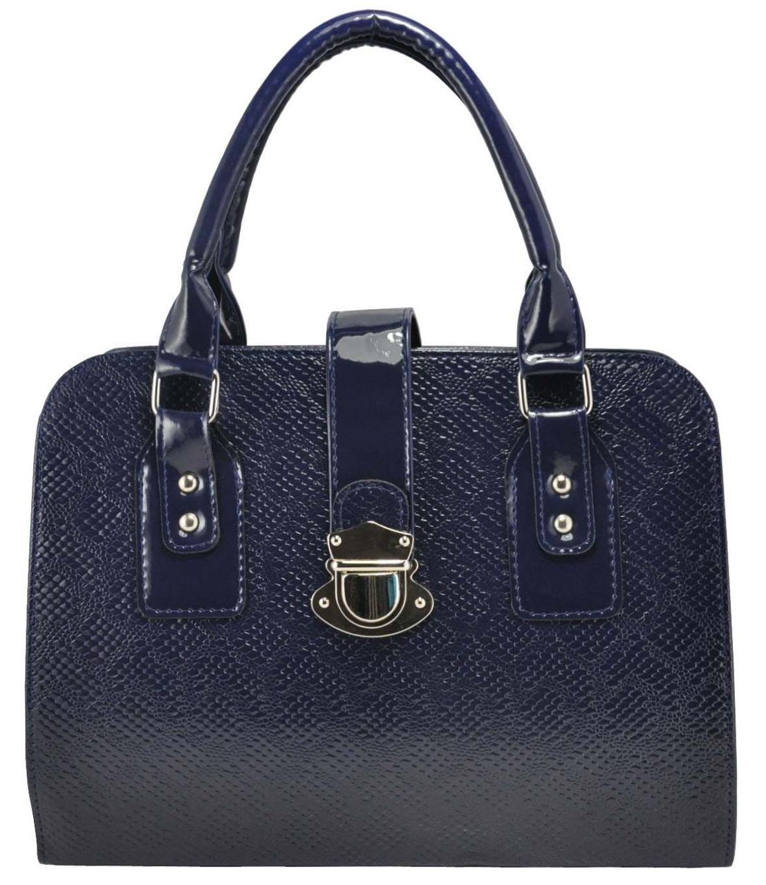 Женская сумка 3014 синяя