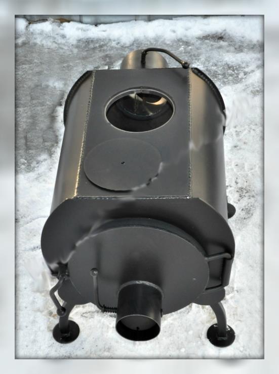 Печь дровяная (эконом) ПД-40 с варочным отверстием (4,5 кВт)
