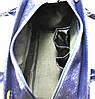 Женская сумка 3115 питон синяя, фото 5