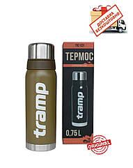 Термос Tramp Expedition Line 0,75 л оливковий. Термос трамп
