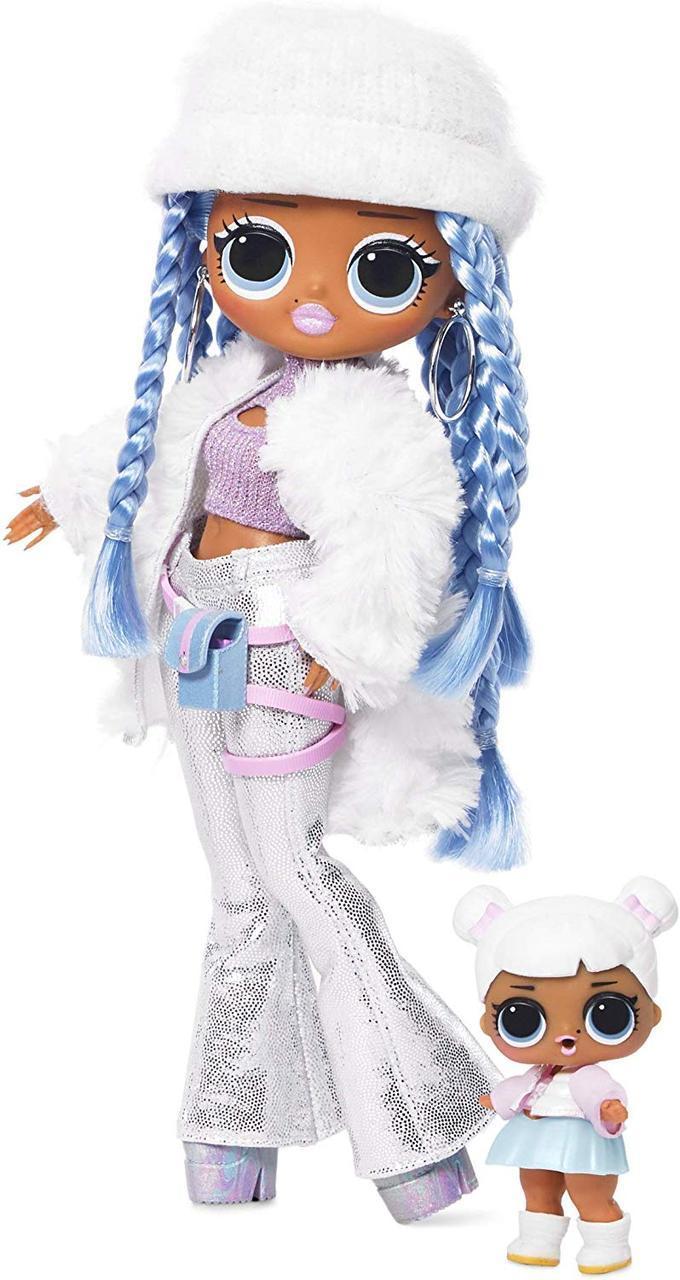 Кукла ЛОЛ ОМГ Зимнее диско Снежный Ангел LOL Surprise! O.M.G. Winter Disco Snowlicious Оригинал