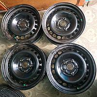 4шт. Диски сталь 6.5Jx15H2 ET33 5x112 DIA 57.1 Audi A4 VW B3