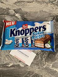 Knoppers Kokos Riegel батончики с кокосом 200 грм