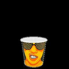 Стакан бумажный 110 мл #CoffeeParty