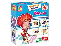 Игра настольная Фикси Мемо Vladi Toys VT2107-02 на русском языке