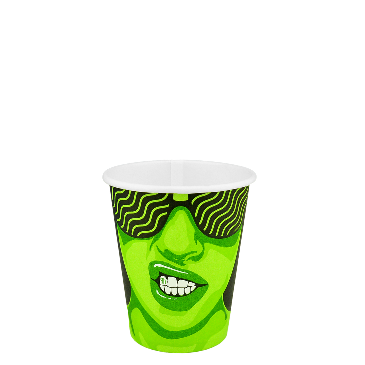 "Стакан бумажный ""#CoffeeParty"" 175мл. 50шт/уп (1ящ/54уп//2700шт) (КР69/КР""Т""70)"