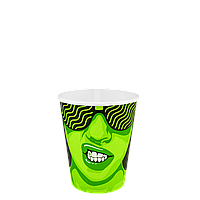 """Стакан бумажный """"#CoffeeParty"""" 175мл. 50шт/уп (1ящ/54уп//2700шт) (КР69/КР""""Т""""70), фото 1"""