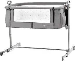 Приставная Колыбель-кроватка KinderKraft Neste Grey 5902533911684