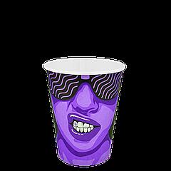 "Стакан бумажный ""#CoffeeParty"" 250мл. 50шт/уп (1ящ/48уп/2400шт) (КР75)"