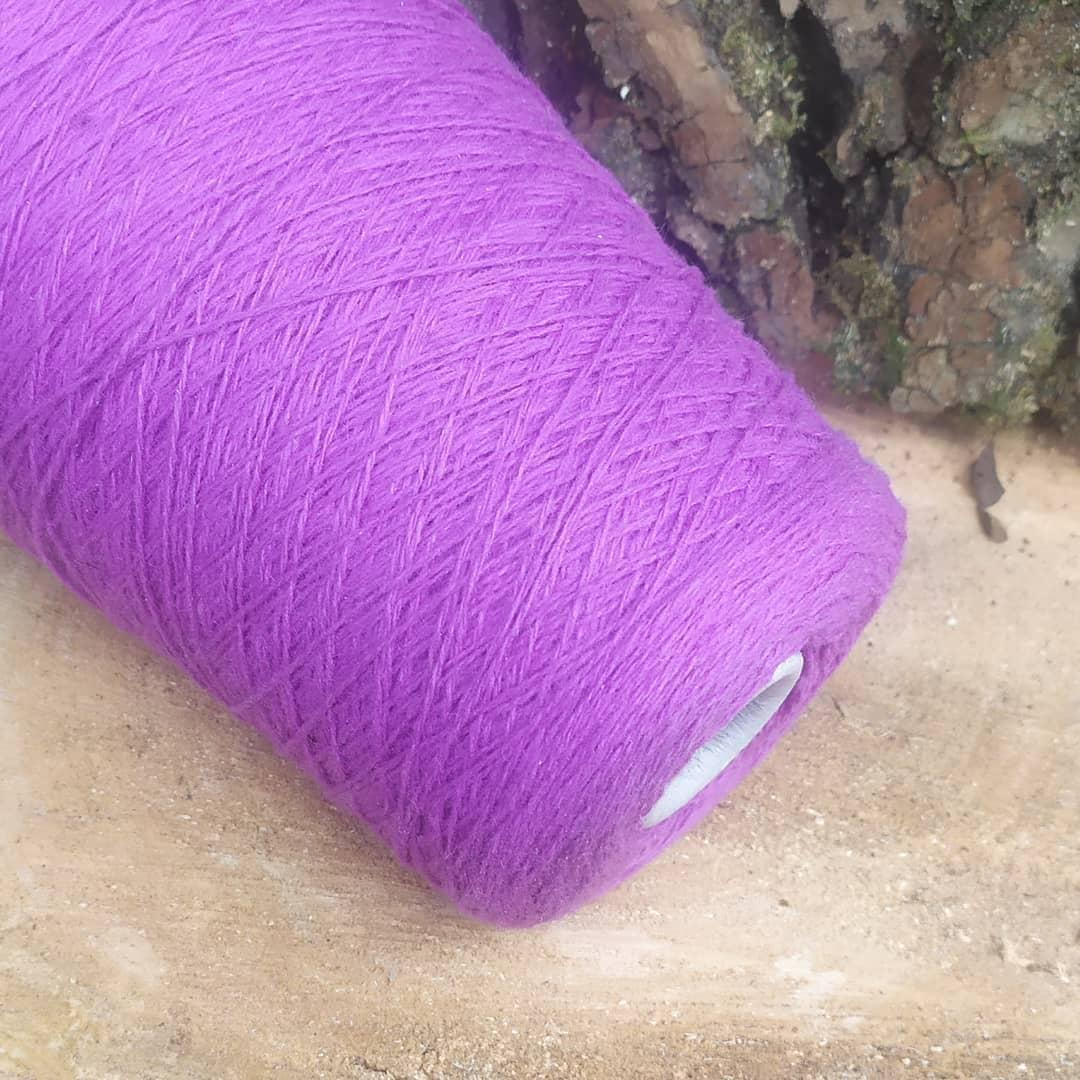 100% шерсть шетландской овцы , лиловый или орхидея