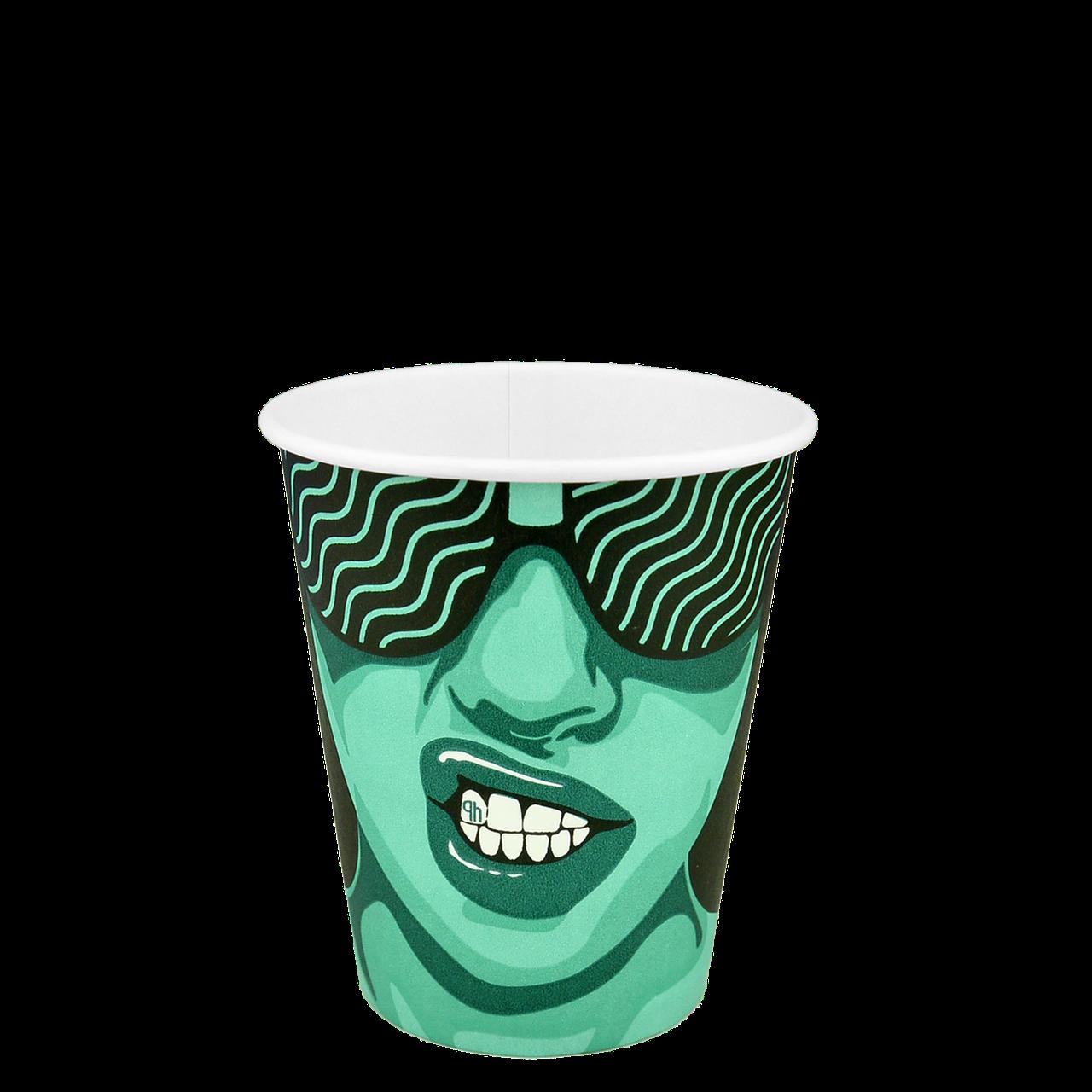 "Стакан бумажный ""#CoffeeParty"" 300мл. 50шт/уп (1ящ/20уп/1000шт) (КB80)"