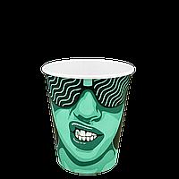 "Стакан бумажный ""#CoffeeParty"" 300мл. 50шт/уп (1ящ/20уп/1000шт) (КB80), фото 1"