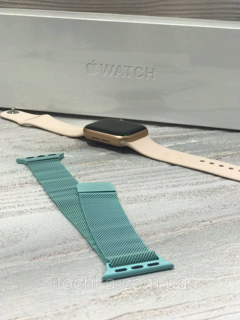 Ремешок для Apple Watch Milanese Loop 38mm Mint