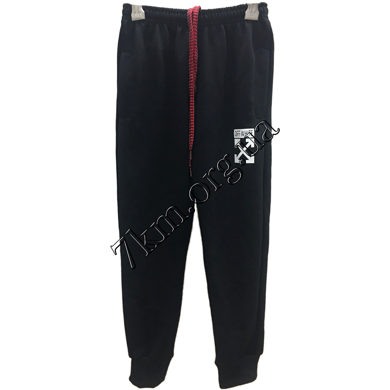 """Спортивные штаны для мальчиков """"реплика Off-White"""" 6-12 лет Оптом 030311-3"""