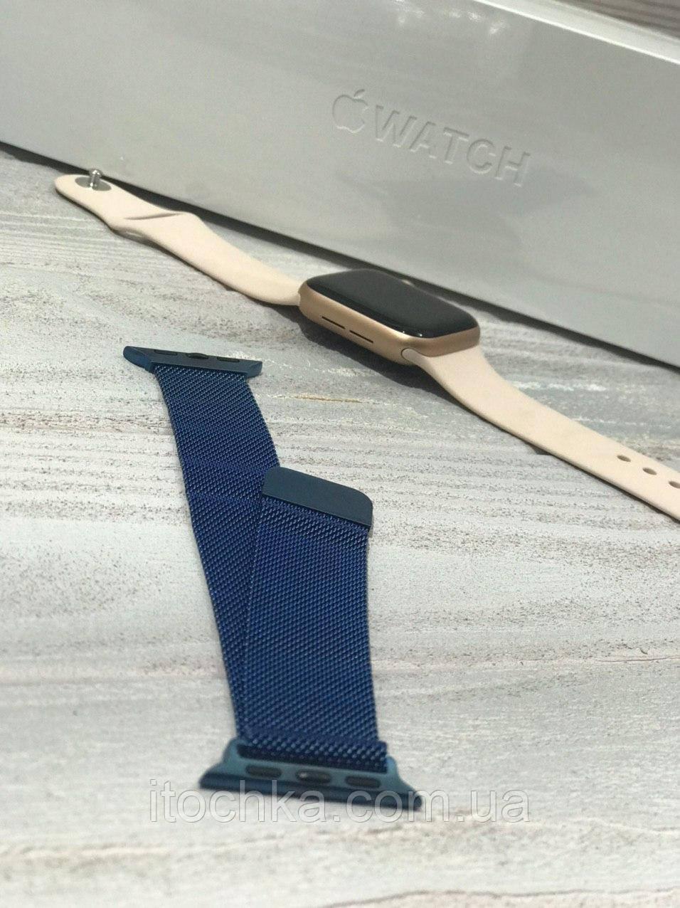 Ремінець для Apple Watch Milanese Loop 38mm Blue