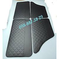 Обшивка дверей, дверные карты, карты дверей ВАЗ 2101-2107 Люкс черные!