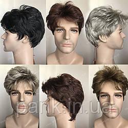 🤵♀️Мужской искусственный парик, короткий волос