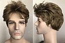 🤵♀️Мужской искусственный парик, короткий волос, фото 6