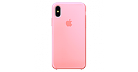 Чехол Apple Silicone Case for iPhone  Xr   Light pink, Розовый