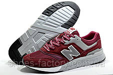 Мужские кроссовки в стиле New Balance 997H Classic, Бордовый, фото 3