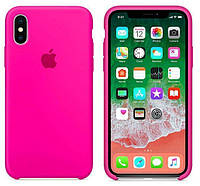 Чехол Apple Silicone Case for iPhone  Xr  Barbie pink