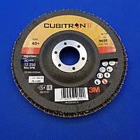 Лепестковый круг 969F 125х22 мм, P40, конический - 3M 51468 CUBITRON II