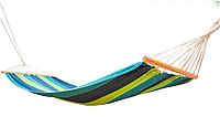 Гамак ТЕ-1837, 200x100 см, хлопок Полоска (Time Eco TM)