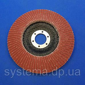 Лепестковый круг 969F 125х22 мм, P80, конический - 3M 51470 CUBITRON II, фото 2