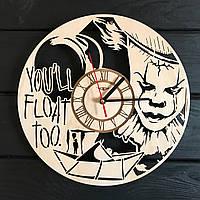 Тематические деревянные часы на стену «Оно», фото 1