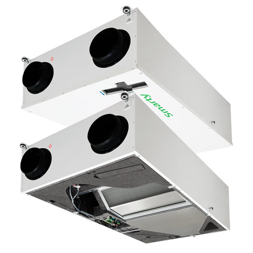 Припливно-витяжна установка з автоматикою Salda Smarty 4X P 1.1