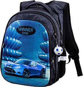 Ранец школьный ортопедический для мальчиков Winner One R1-006 Виннер рюкзаки