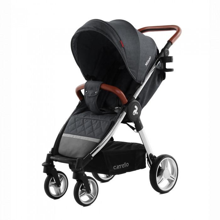 Коляска прогулочная с амортизацией CARRELLO Milano CRL-5501 Solid Grey