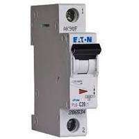 Автоматический выключатель PL4 Eaton (Moeller)-C20/1  1Р 20А тип С4,5кА