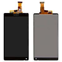 Дисплейный модуль для Sony Xperia ZL C6502 L35h, оригинал, черный