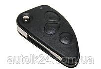 Корпус выкидного ключа для Alfa Romeo 147 156 166 Gt 3 - кнопки