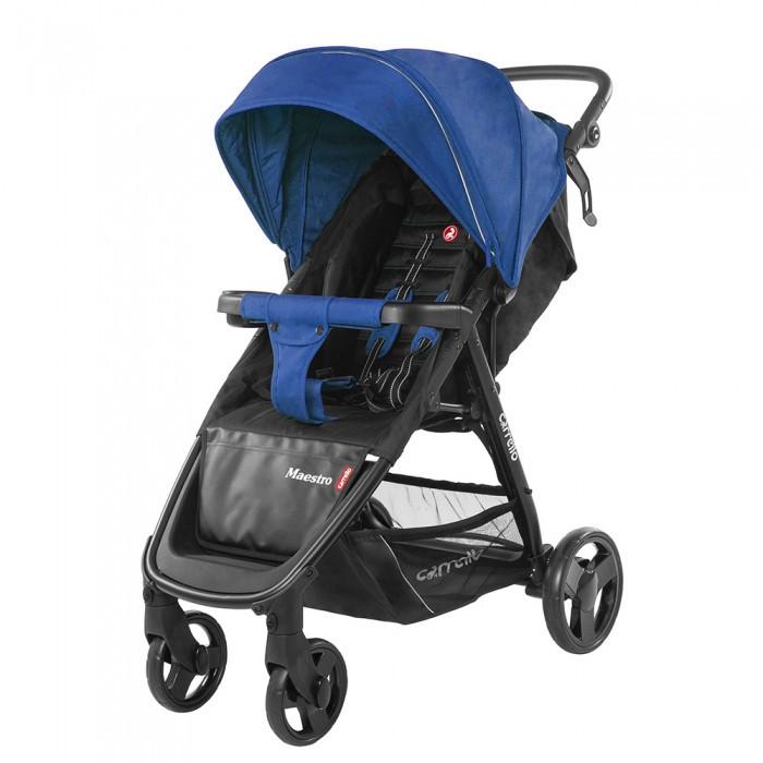 Коляска прогулочная с амортизацией на всех колесах CARRELLO Maestro CRL-1414 Orient Blue