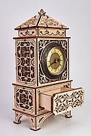 Дерев'яна модель Класичні годинник. Сувенір з дерева Wood trick. 100% ГАРАНТІЯ ЯКОСТІ (Опт,дропшиппинг), фото 1