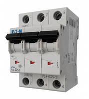 Автоматический выключатель PL4 Eaton (Moeller)-C20/3  3Р 20А тип С4,5кА