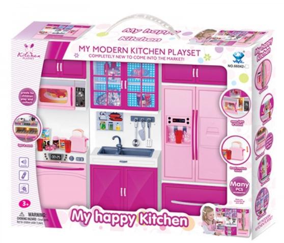 Игровой набор мебели.Детская игрушечная кухня.Игрушечная реалистичная кухня.