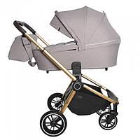 Коляска универсальная для новорожденных CARRELLO Epica CRL-8510 (2in1) Almond Beige +дождевик