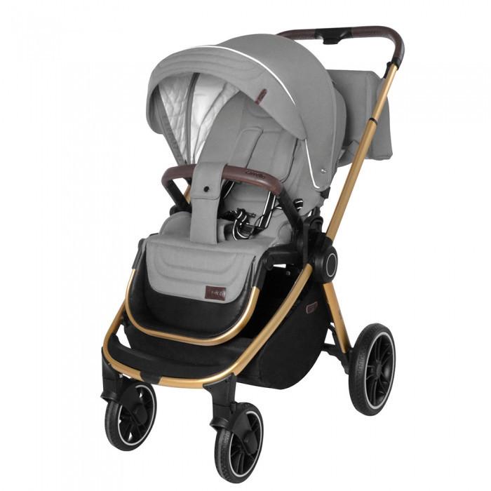 Коляска универсальная для детей с рождения CARRELLO Epica CRL-8510 (2in1) Silver Grey +дождевик
