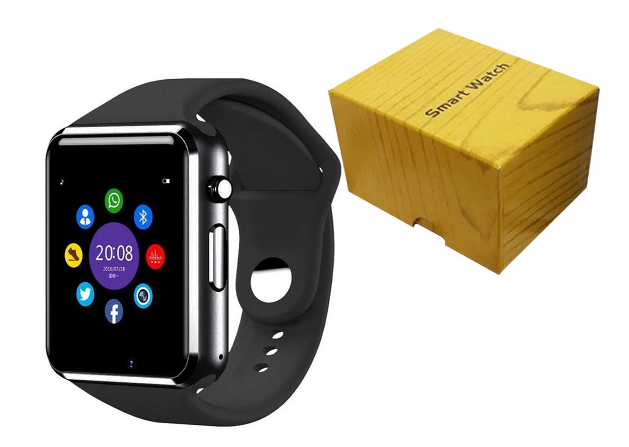 Умные часы Smart Watch A1 Black