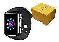 Умные часы Smart Watch A1 Black, фото 1