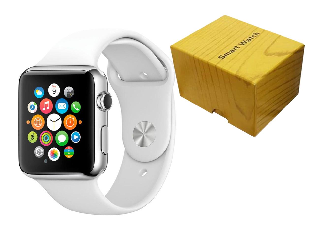 Умные часы Smart Watch A1 (Белые)