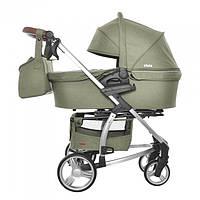Коляска универсальная 2 в 1 для новорожденных CARRELLO Vista CRL-6501 Olive Green